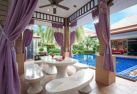 Thammachat Madonna Villa | 3 Bed Pool Villa near Pattaya