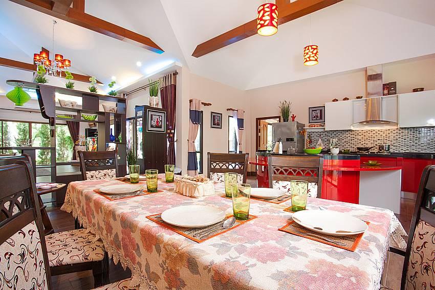 Thammachat Madonna Villa | 3 Bed Pool Villa near Pattaya