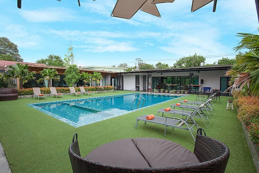 The amazing pool area-Stargaze Resort_Jomtien_Pattaya_Thailand