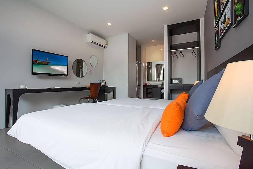 Comfortable single beds-Stargaze Resort_Jomtien_Pattaya_Thailand