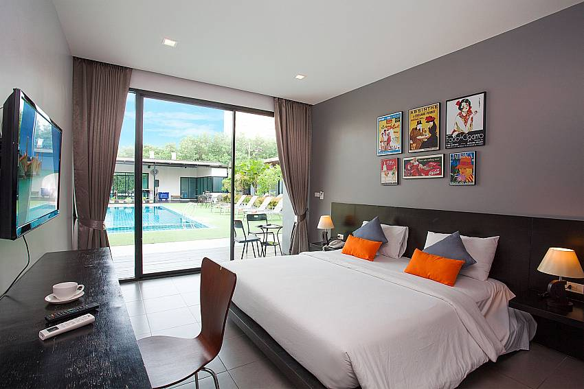 Great view in the double bedroom-Stargaze Resort_Jomtien_Pattaya_Thailand