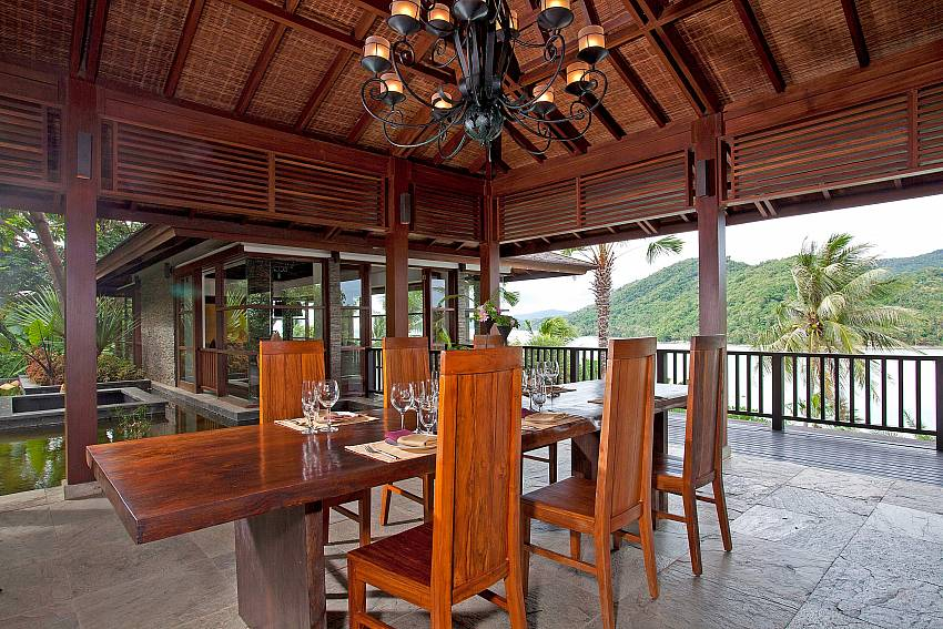 dining area with sea view-Amaroo Villa_Laem Sor_Koh Samui_Thailand