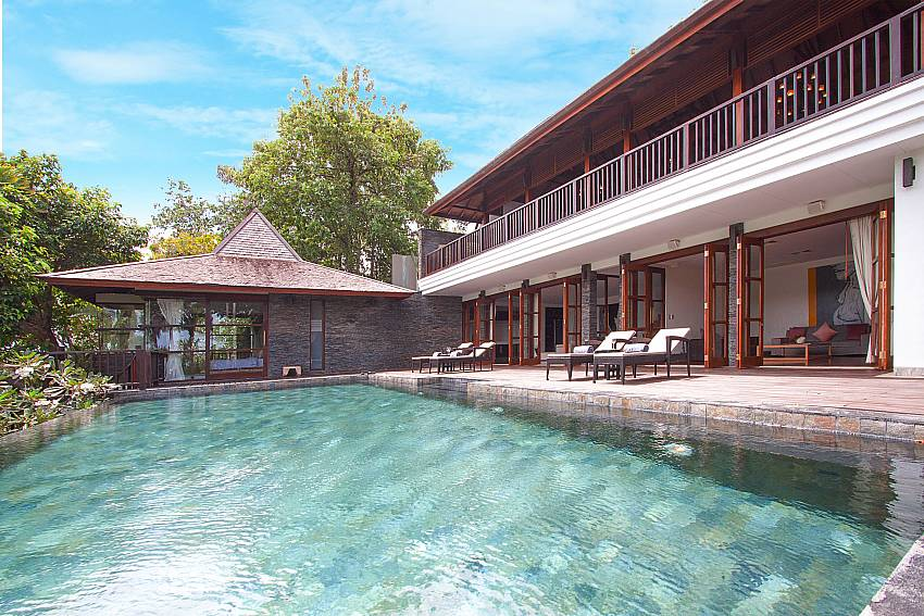 great pool area at-Amaroo Villa_Pangka beach_Samui_Thailand