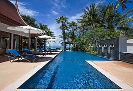 Villa Alkira | Вилла с 6 спальнями, бассейном и с видом на пляж Lipa Noi в Самуи