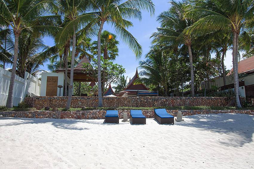 6 bedrooms rental direct beach access-Villa Alkira_Lipa Noi_Samui_Thailand
