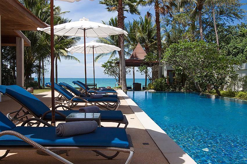 relaxing spot by the pool at-Villa Alkira_Lipa Noi_Samui_Thailand