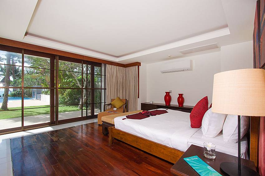 3. double bedroom direct pool access-Villa Alkira_Lipa Noi_Samui_Thailand