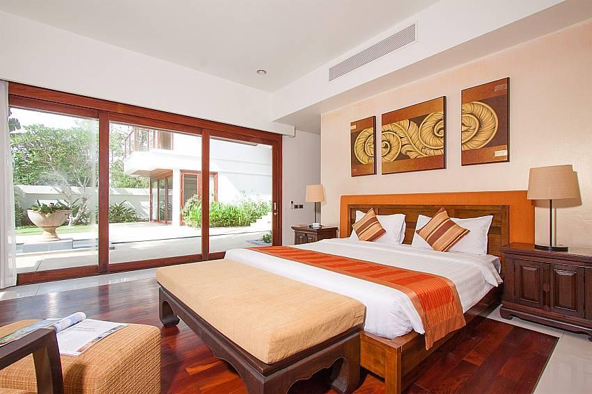 airy bedrooms in-Villa Alkira_Lipa Noi_Koh Samui_Thailand