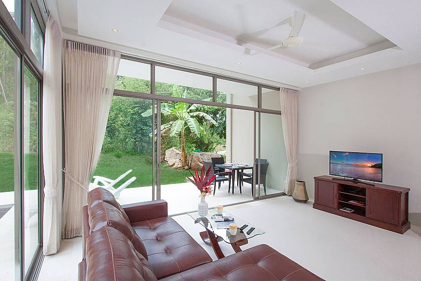 Open living plan-Triumph Villa B_Maenam_Koh Samui_Thailand