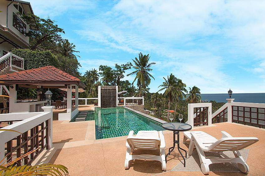 4 bed villa with pool and sea view--Villa Werona_Bang Por_Koh Samui_Thailand