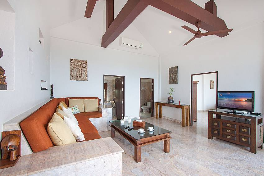 Spacious airy living room-Villa Werona_Bang Por_Samui_Thailand