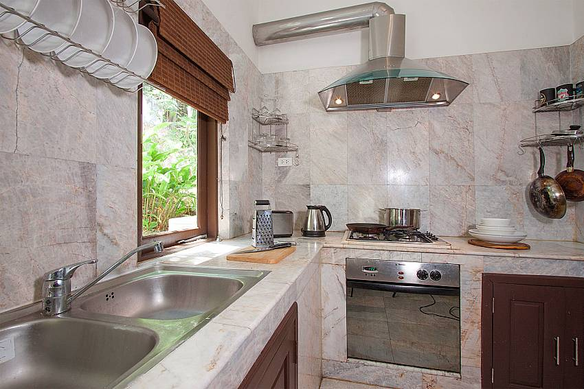 high quality kitchen features-Villa Werona_Bang Por_Samui_Thailand