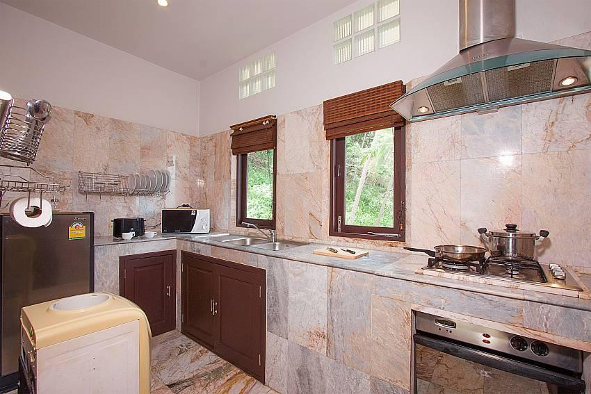 Kitchen area-Villa Werona_Bang Por_Koh Samui_Thailand