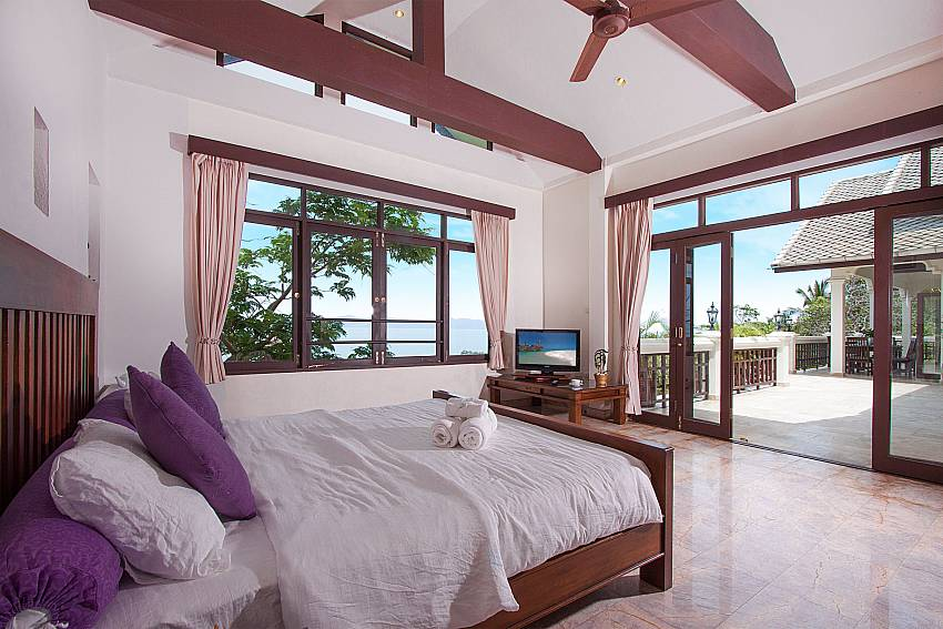 all luxury at 3. kingsize bedroom-Villa Werona_Bang Por_Samui_Thailand
