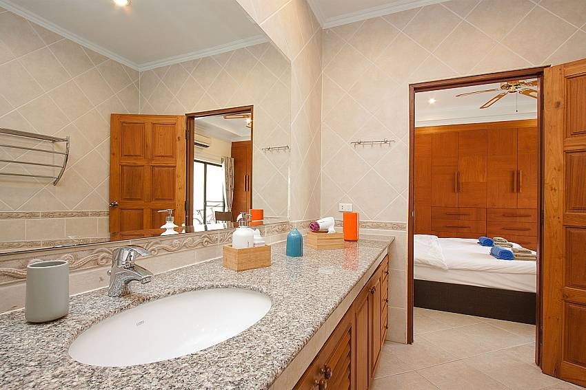 l1. en suite bath at Villa Majestic 40 Pratumnak Pattaya Thailand