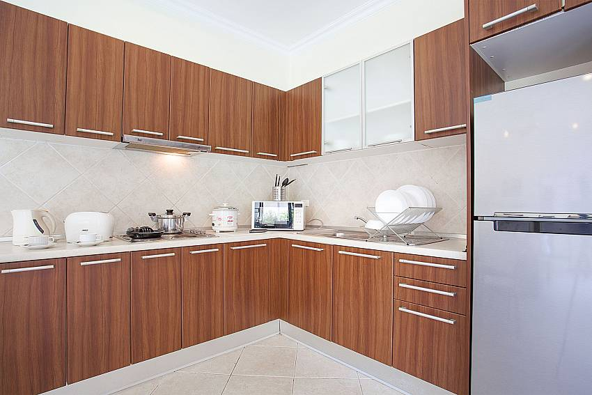 Modern kitchen at Pratumnak in Pattaya Thailand