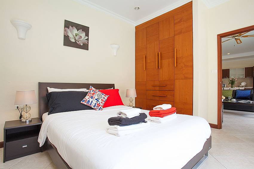 Guest bedroom at Villa Majestic 40 Pratumnak Pattaya Thailand