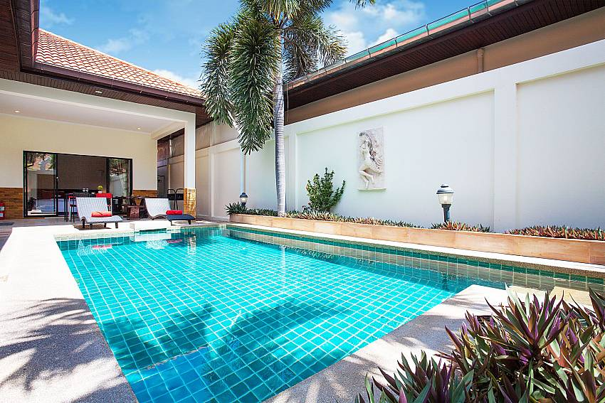 Private pool at Villa Majestic 41 Pratumnak Hill Pattaya Thailand
