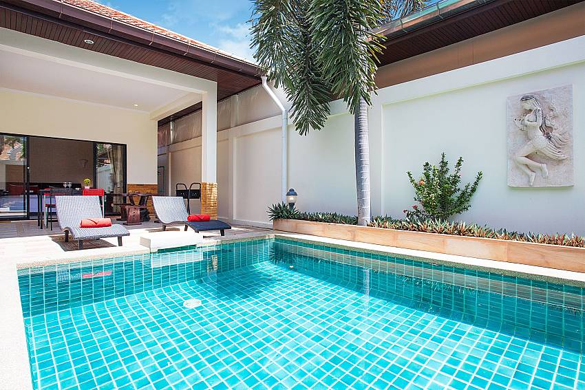 Private Pool area of Villa Majestic 41 Pratumnak Hill Pattaya Thailand
