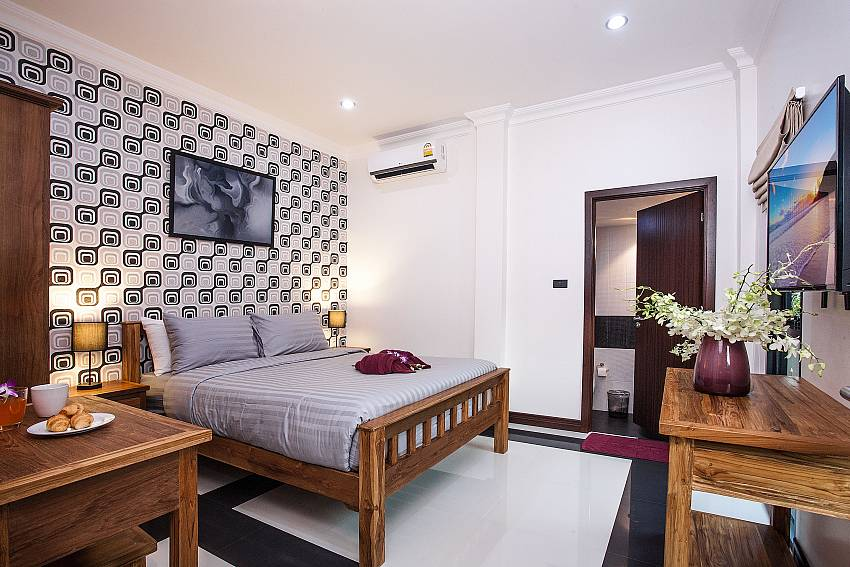 Bedroom design Of Baan Chatmanee