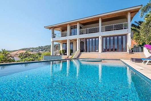 Rent Phuket Villas: Ocean Breeze Villa, 6 Bedrooms. 28031 baht per night