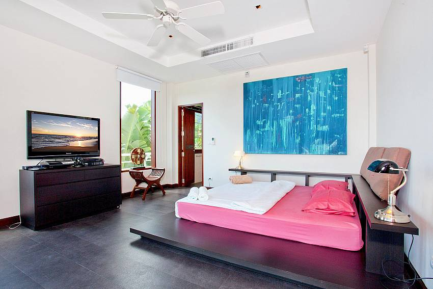 Master Bedroom 2-Ocean Breeze_5 Bedroom Villa_Private Pools_Rawai_Phuket_Thailand