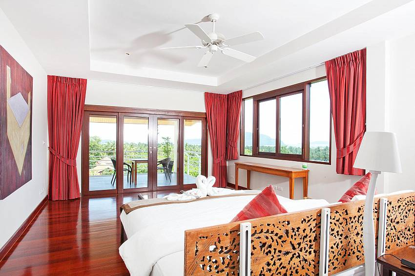 Upstairs Bedroom 1-Ocean Breeze_5 Bedroom Villa_Private Pools_Rawai_Phuket_Thailand