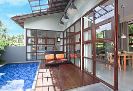 Villa Rune 115 | Pool 1 Bedroom Home in Chaweng Samui