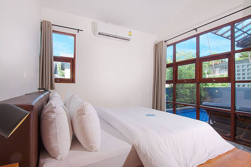 Bedroom Villa Rune 122 in Chaweng on Samui