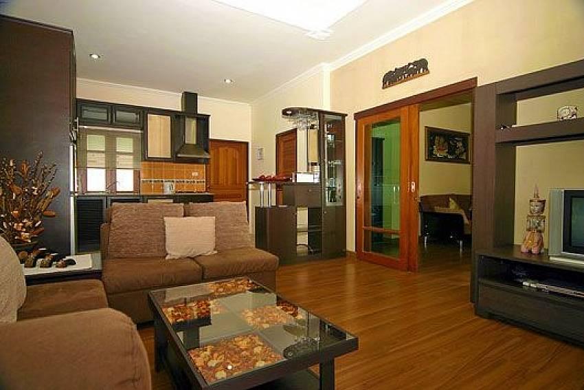Comfortable Living Room Of Baan Sabai