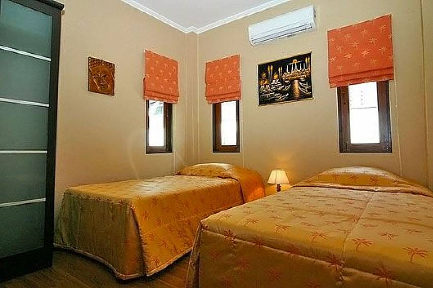 Twin Bedroom Of Baan Sabai