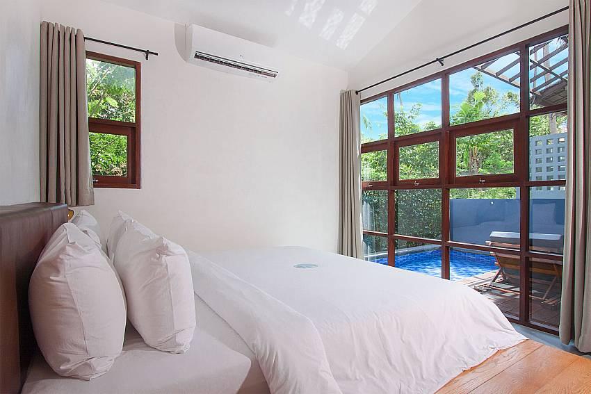 Bedroom Villa Rune 123 in Chaweng on Samui