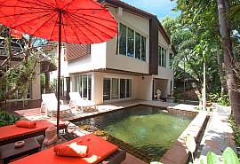 Villa Baylea 401 | Asian 4 Bed Pool Villa at Chaweng in Samui