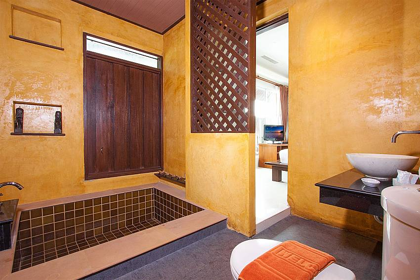 Bathroom Villa Baylea 401 at Chaweng in Samui