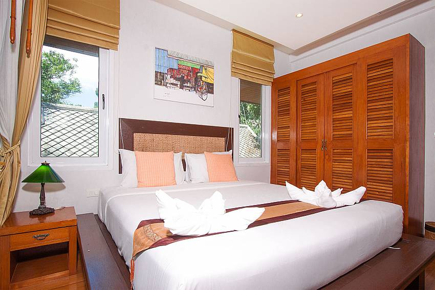 Bedroom Villa Baylea 401 at Chaweng in Samui