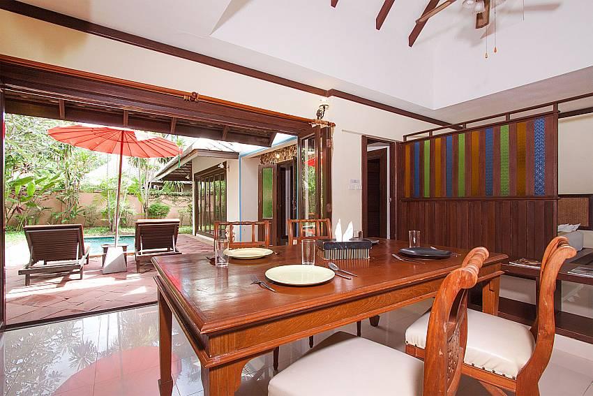 Dinning area Villa Baylea 202 in Koh Samui