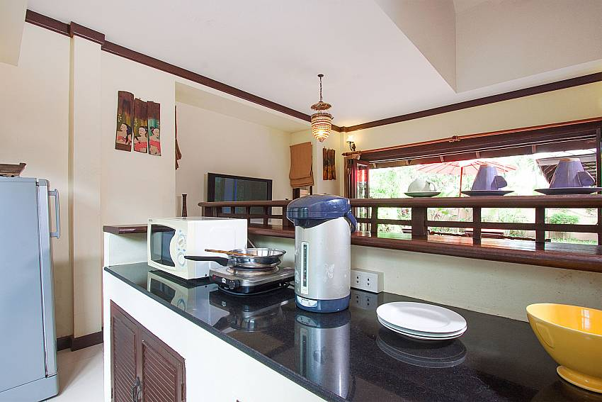 Kitchen Villa Baylea 202 in Koh Samui