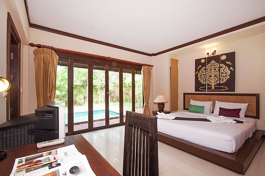 Bedroom Villa Baylea 202 in Koh Samui