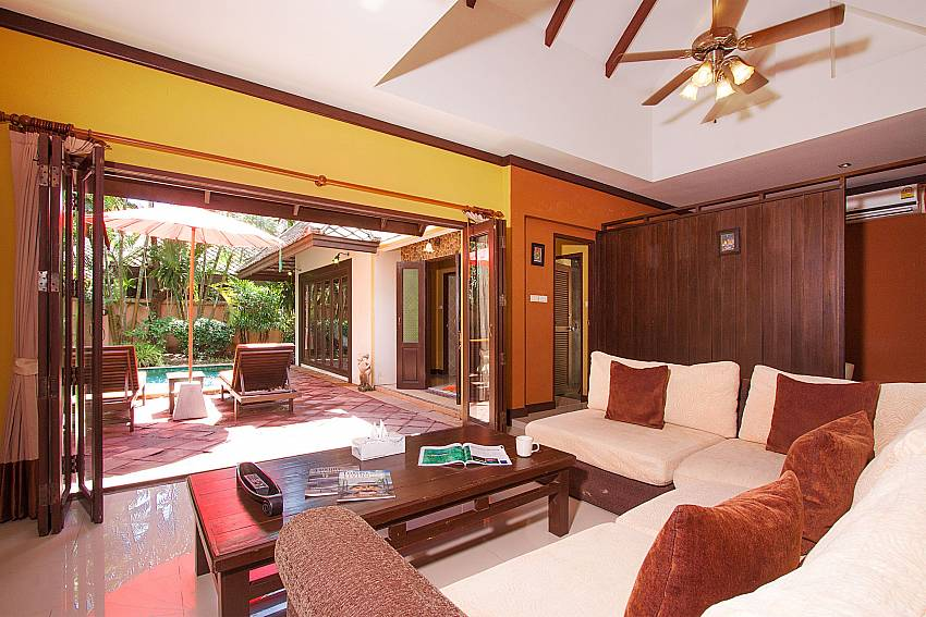 Living room Villa Baylea 203 in Koh Samui