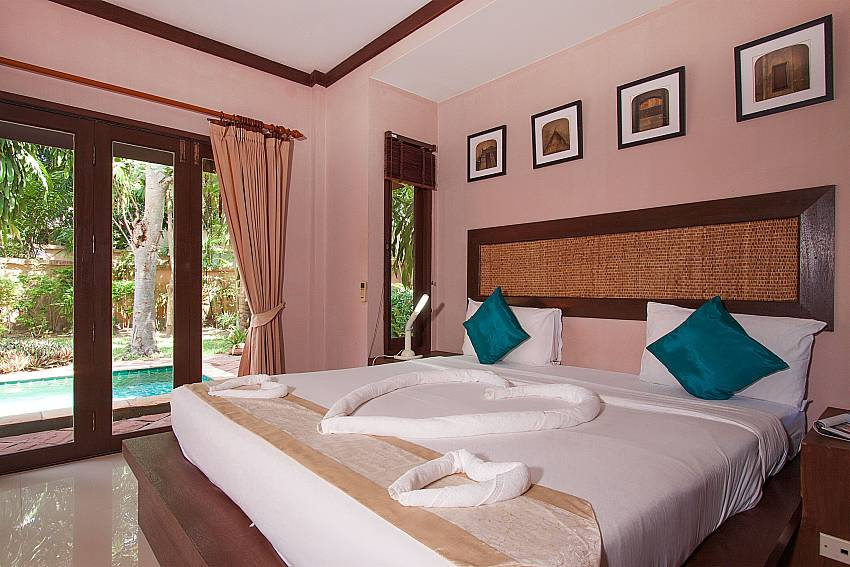 Bedroom Villa Baylea 203 in Koh Samui