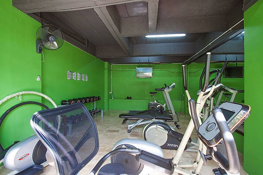 Gym Villa Baylea 203 in Koh Samui