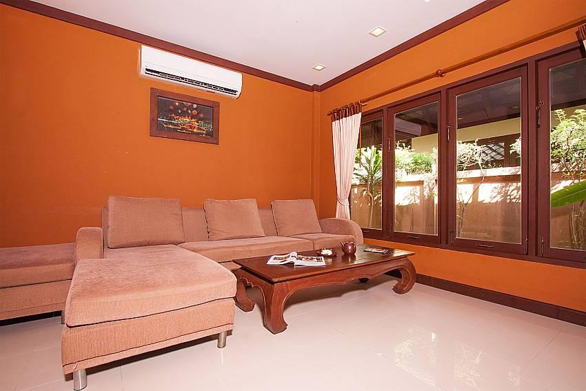 Living room Villa Baylea 101 in Chaweng Samui