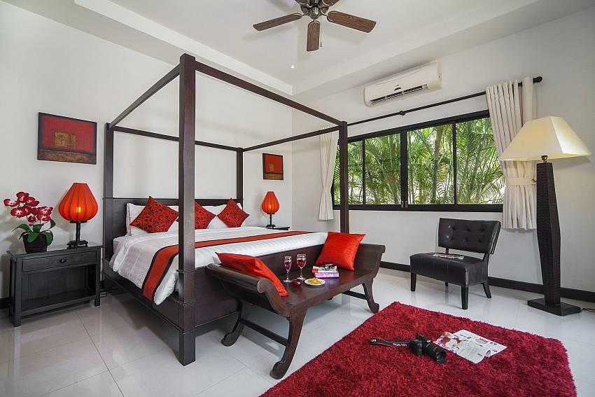 Master Bedroom-Villa Gaew Jiranai_4 Bedroom_ Family Villa_Private Pool_Nai Narn_Rawai_Phuket_Thailand