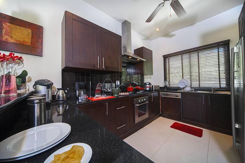Kitchen-Villa Gaew Jiranai_4 Bedroom_ Family Villa_Private Pool_Nai Narn_Rawai_Phuket_Thailand