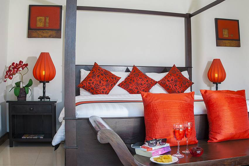 Vibrant red theme throught-Villa Gaew Jiranai_4 Bedroom_ Family Villa_Private Pool_Nai Narn_Rawai_Phuket_Thailand