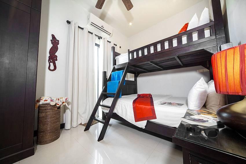 Bunk-bed Bedroom-Villa Gaew Jiranai_4 Bedroom_ Family Villa_Private Pool_Nai Narn_Rawai_Phuket_Thailand