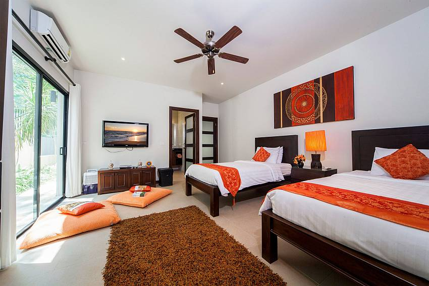 Guest Bedroom-Ploi Attitaya_6 bedroom villa_Private Pool_Nai Harn_Rawai_Phuket_Thailand