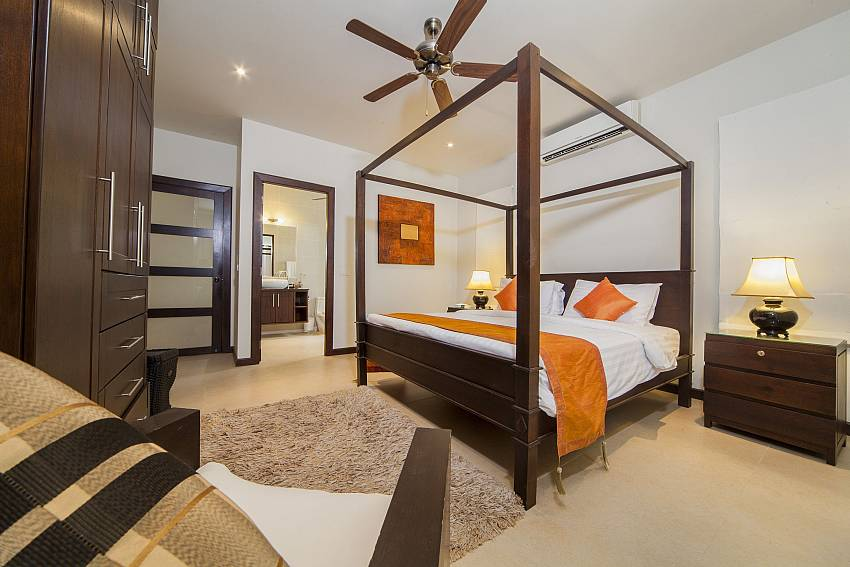Second Master Bedroom-Ploi Attitaya_6 bedroom villa_Private Pool_Nai Harn_Rawai_Phuket_Thailand