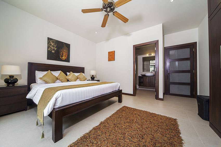 Guest Bedroom 1-Ploi Attitaya_6 bedroom villa_Private Pool_Nai Harn_Rawai_Phuket_Thailand