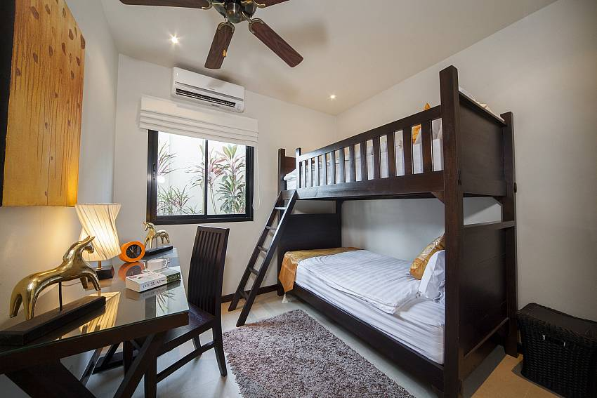 Childrens Bunk Beds-Ploi Attitaya_6 bedroom villa_Private Pool_Nai Harn_Rawai_Phuket_Thailand